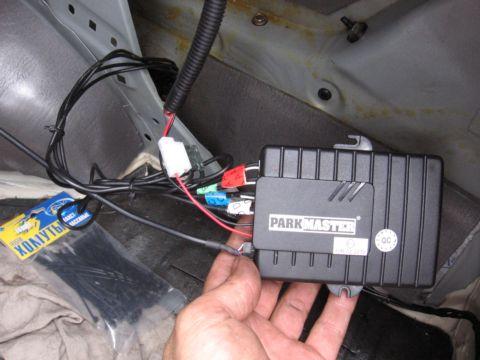 Установка парктроника на ниссан альмера классик своими руками