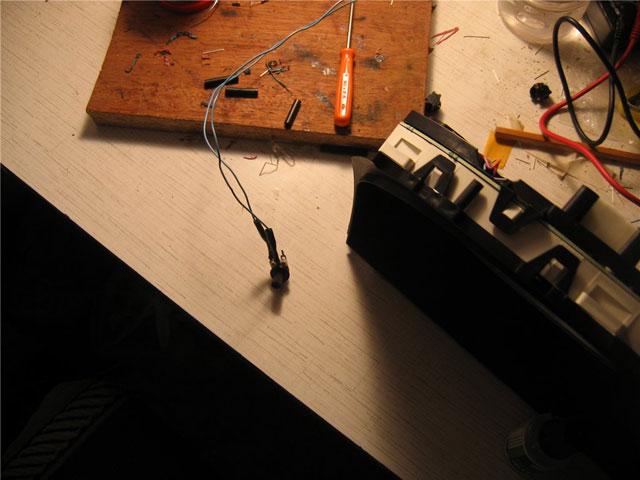 как установить светодиоды в приборную панель Ниссан Альмера N16